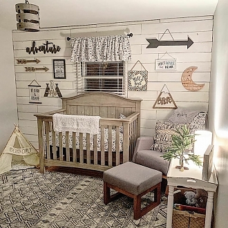 "Dreamy Tribal Nursery - ""Recreate"" Pckg."